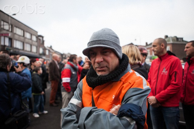 Funeral for ArcelorMittal worker who committed suicide