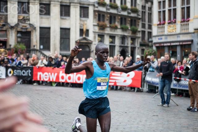 Kenyan Samson Bungei wins Brussels Marathon